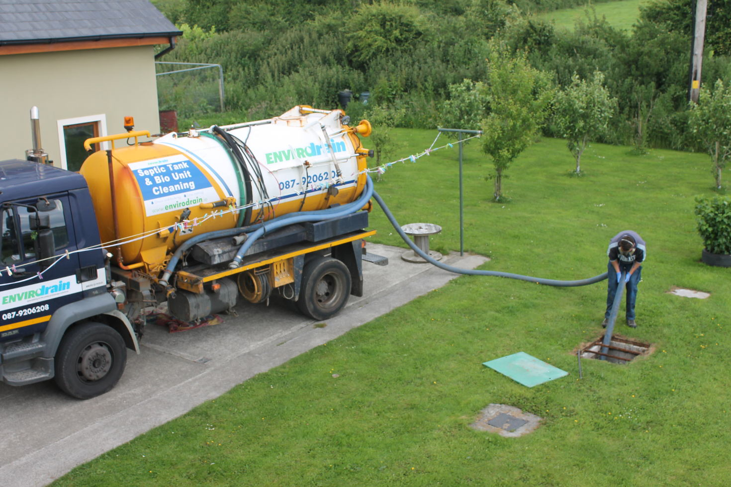 Septic tank Cleaning 7